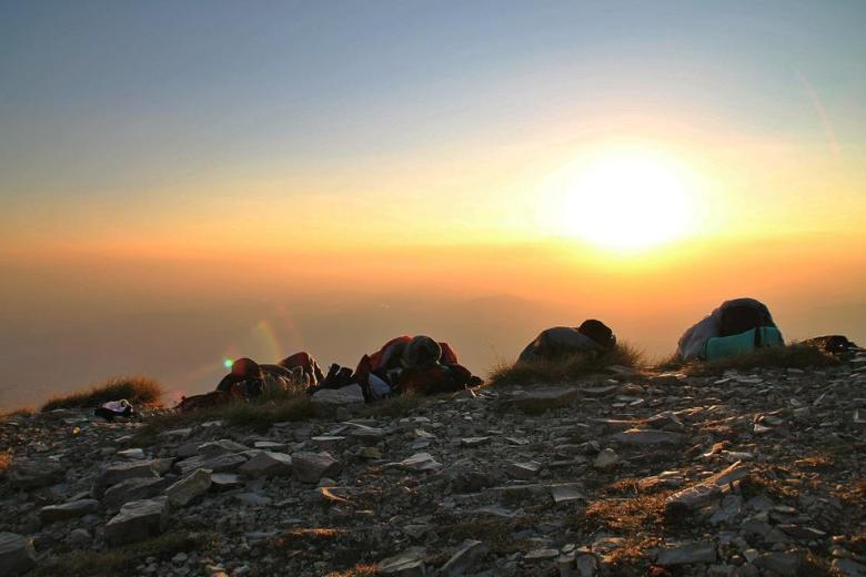 Escursione notturna Alba al Monte Vettore